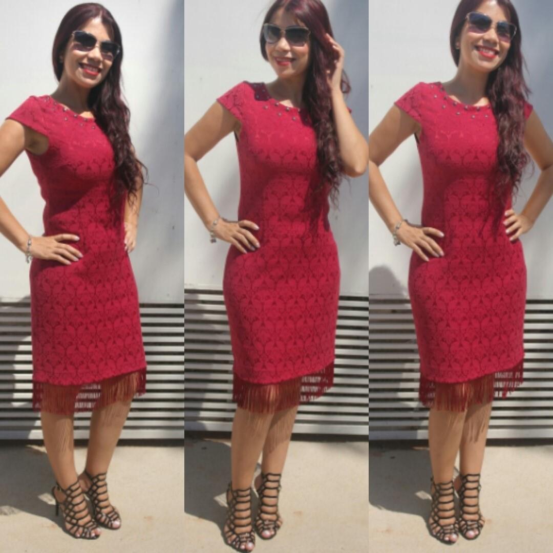 vestido de franjas blog estilo modas e manias