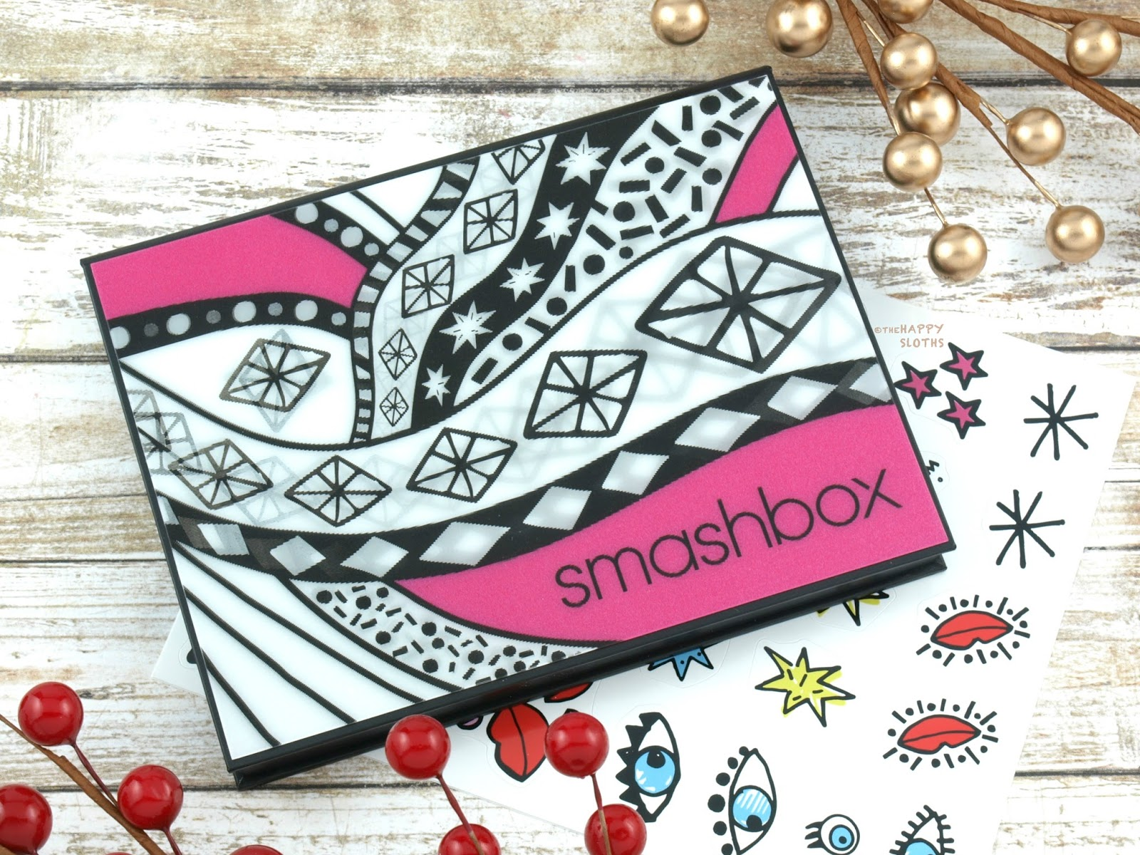 Smashbox Holiday 2017 | Drawn In. Decked Out. Sculpting Cheek Palette: Review and Swatches