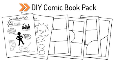 Creating a Comic Book with a 4-Year-Old