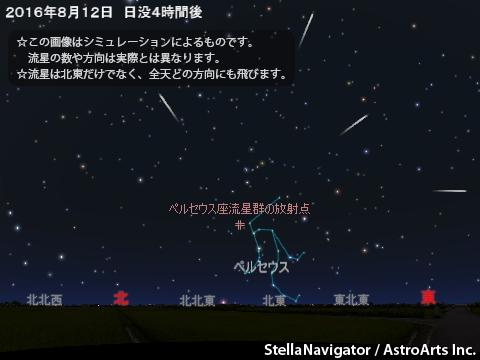 軽井沢 流星群