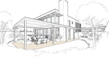 Contemporary House Plan 4
