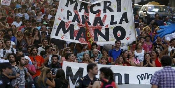 Nueva jornada de protesta en Argentina contra despidos