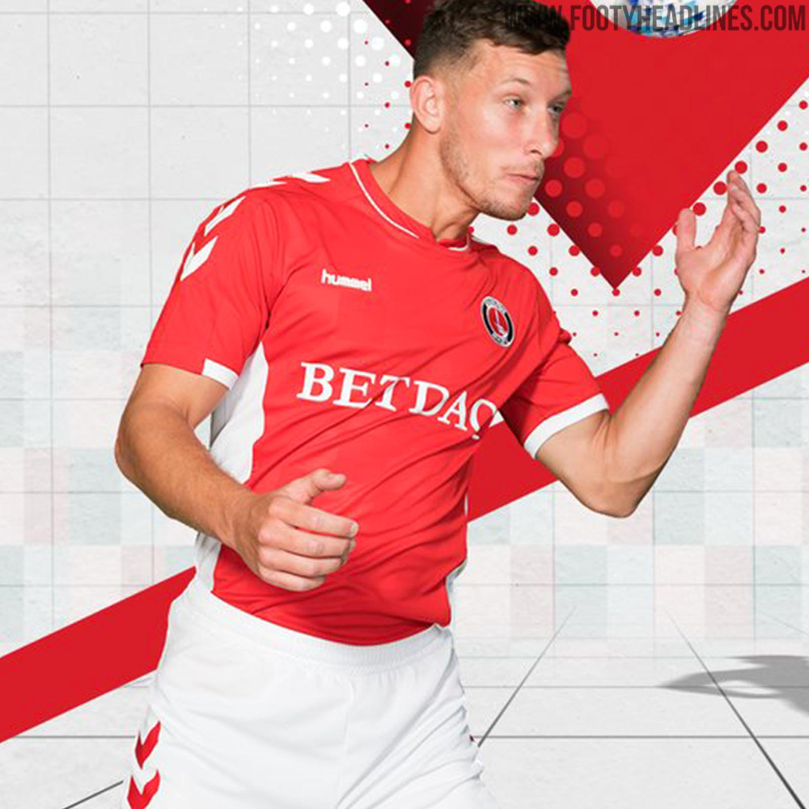 d3c19287a6055 Charlton 18-19 Home & Away Kits Released - Footy Headlines