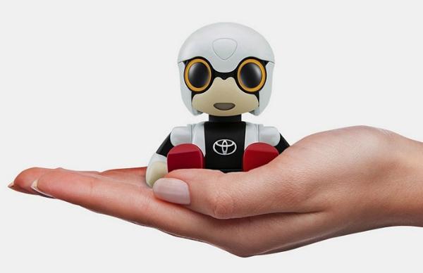 """بالفيديو: تعرف على ميني روبوت """"تويوتا"""""""
