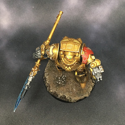 Legio Custodes Contemptor-Achillus Dreadnought