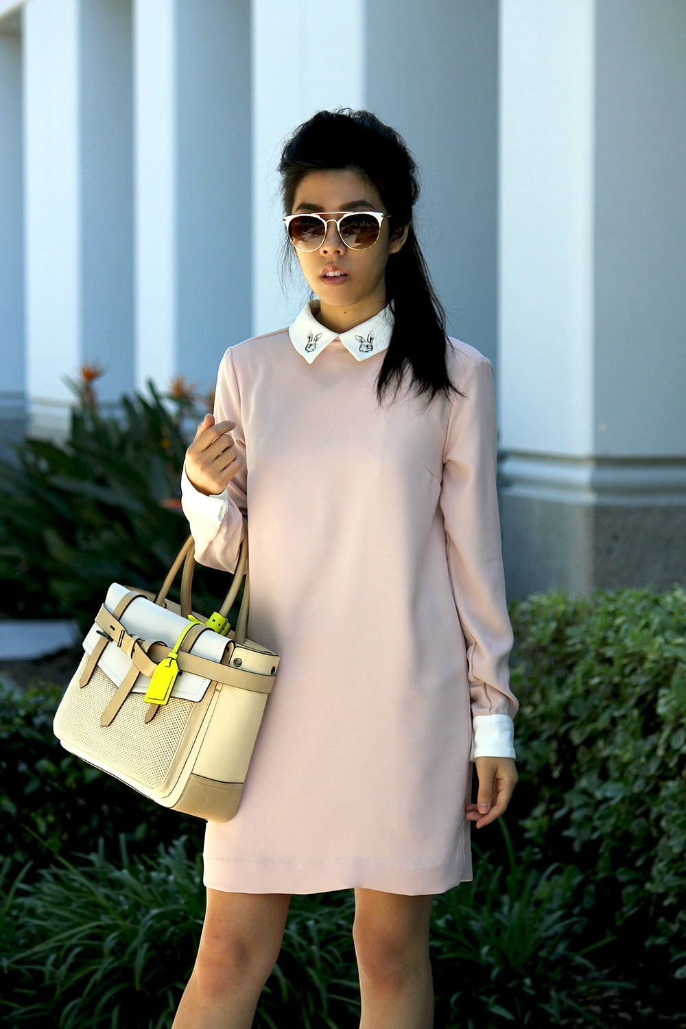 Adrienne Nguyen_Invictus_Pink Collar Dress_Research Student_What to wear into a Research Job_How to Look Fashionable at Work