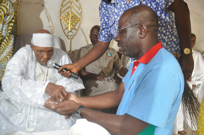Odubu Drums Support for Obaseki in Orhiomwon