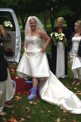 2709efdda2 We can see more and more brides prefer UGG than other warm shoes