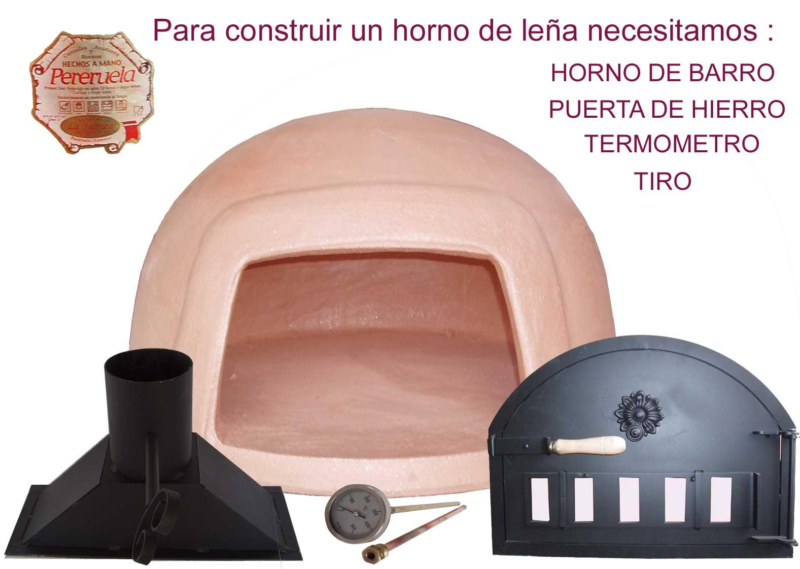 Hornos de le a pereruela construcci n de un horno - Construccion de un horno de lena ...