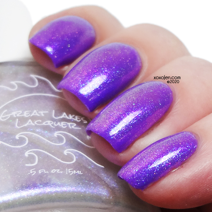 xoxoJen's swatch of Great Lakes Lacquer Refresh