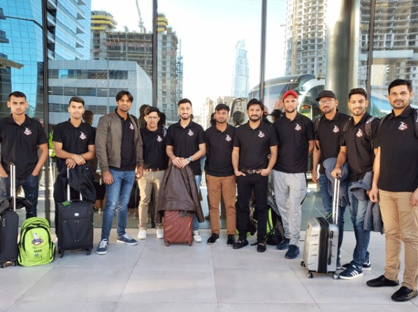 PSL4; Lahore Qalandar's team reached Dubai