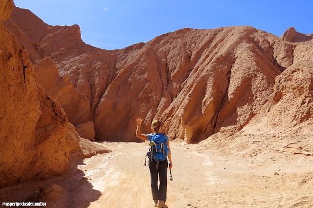 Quebrada del Diablo, Atacama - trekking personalizado no deserto - Não Pira, Desopila