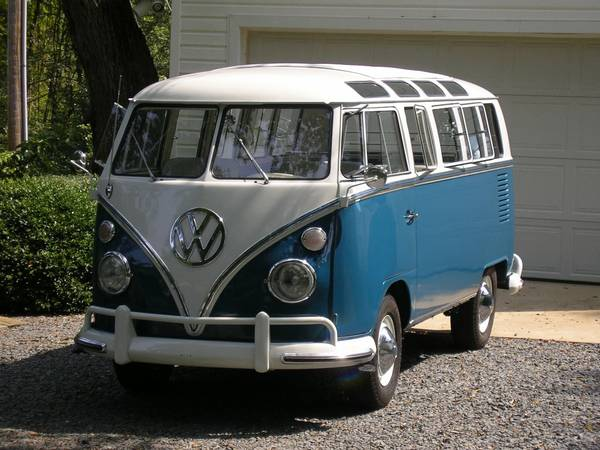 Classic VW Bus 21 Window