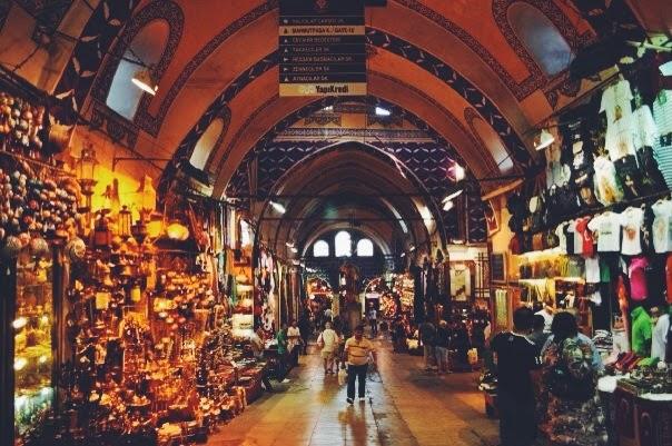 gran bazaar istanbul turkey