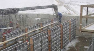 Construction of Frost Wall Foundation in Freezing Temperature_engineersdaily.com
