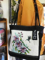 cattleya embroidery bag