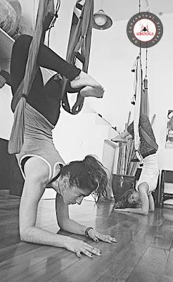 yoga aéreo cursos