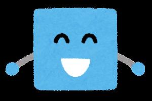 四角形のキャラクター2