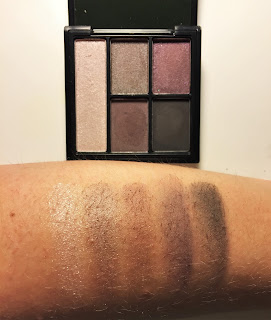 e.l.f. Clay Eyeshadow Palette smoked to perfection swatch