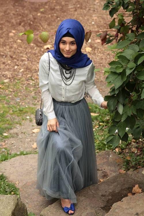 Fashion Hijab Makin Imut Dengan Rok Tutu