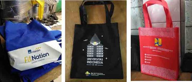 Goodie bag Murah Bahan Spundbond Cipadu