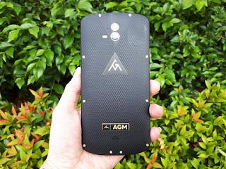 Hape Outdoor AGM X1 Seken Mulus 4G LTE IP68 Certified RAM 4GB Dual Back Camera