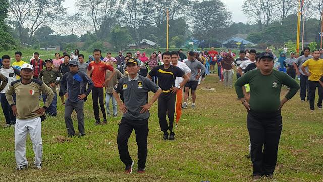 PKS Medan Labuhan Gelar Senam Bersama Warga dan Remaja Masjid
