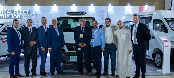 Nissan showcase the Nissan Urvan and Navara in Foodex Jeddah Event