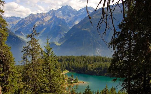 Wallpaper Hd 1080p 3d Flower Beautiful Scenery In Switzerland Most Beautiful Places