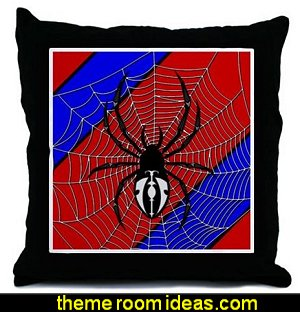 Spider Web Throw Pillows