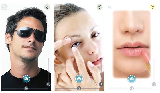 bercermin atau berkaca menggunakan android
