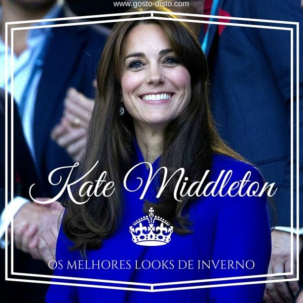 Kate Middleton, looks de inverno