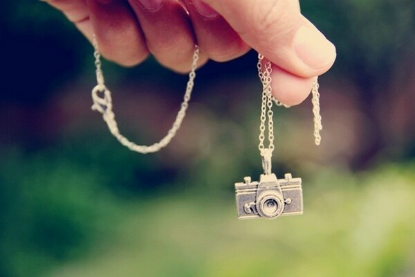 Silver Pendant Gift For Photographers