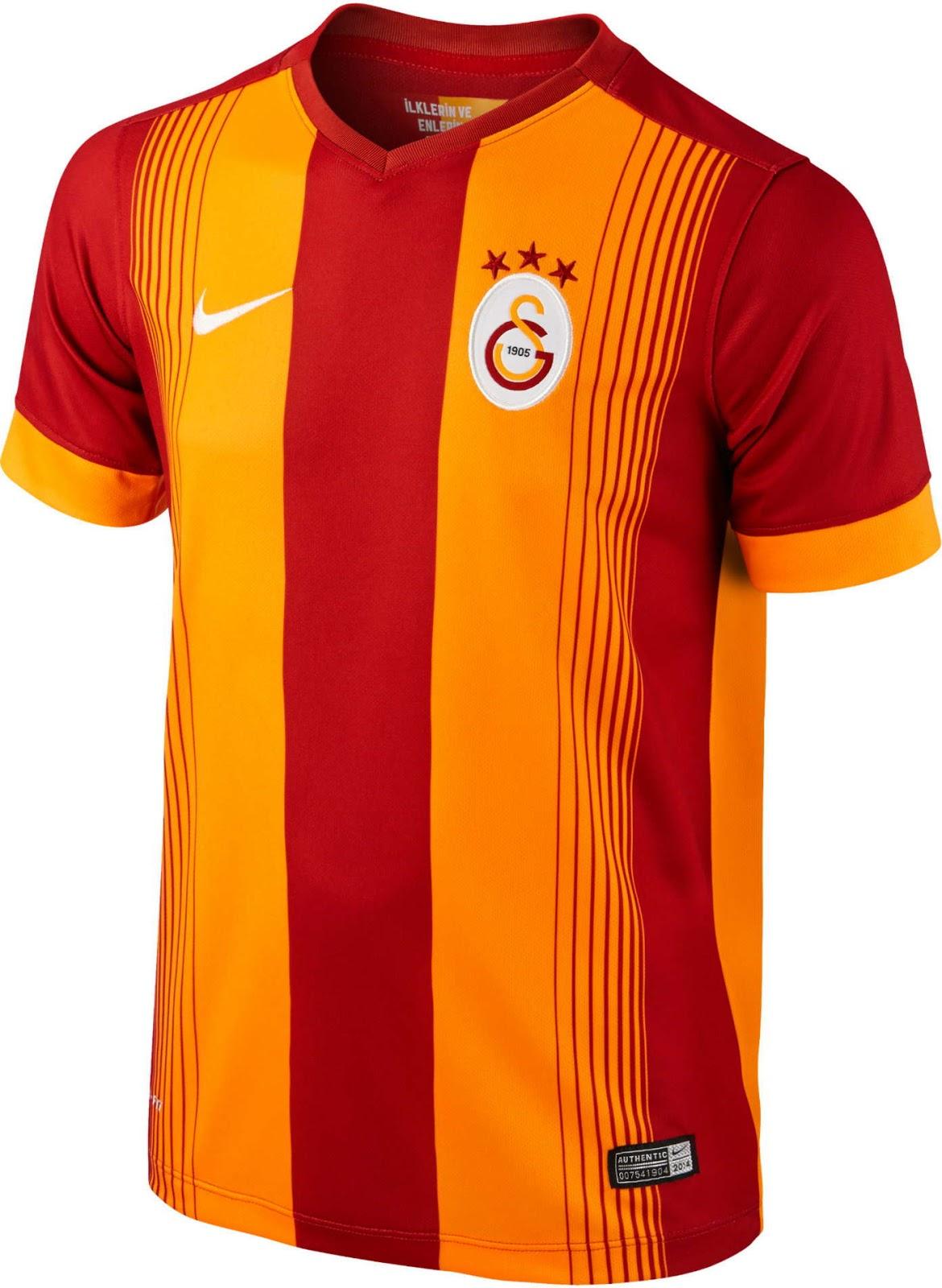 Galatasaray 14-15 Kits Released