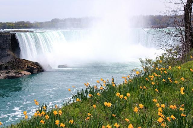 Primavera em Niagara Falls