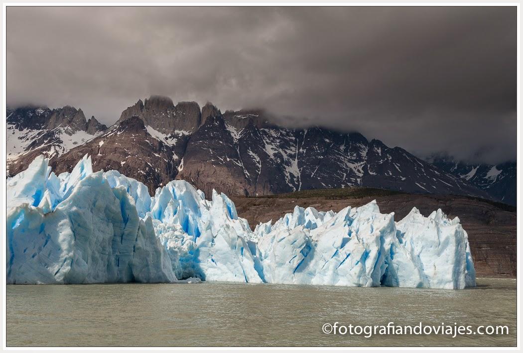 Lago Grey y Glaciar Grey
