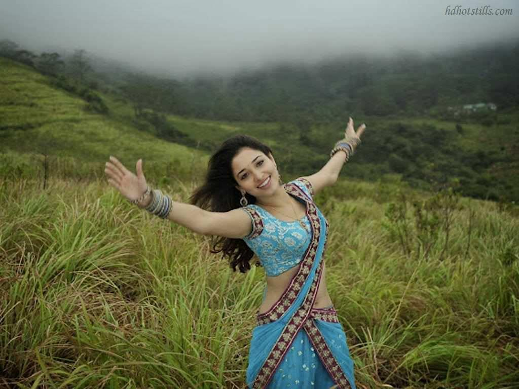 Tamanna In Tadakha Halfsaree: Tamanna Hot Stills In Tadakha Movie