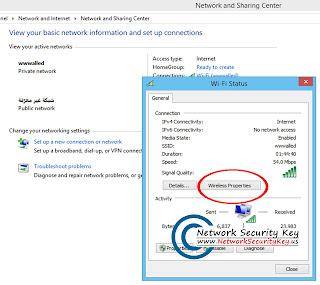 Wireless Network Security Password