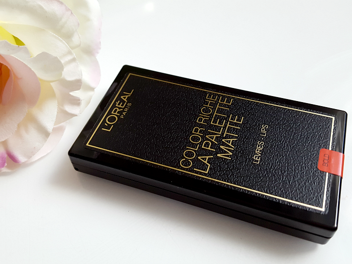 Review: L´Oréal Paris - Color Riche La Palette Matte Bold - 6 x 1g - 14.99 Euro
