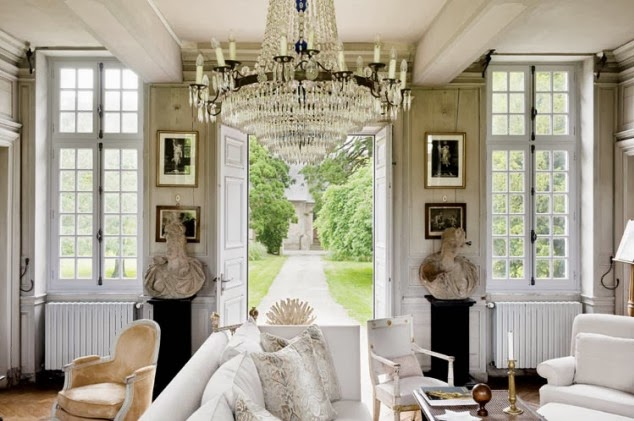 Decor Inspiration | Charles Spada French Chateau Interiors ...