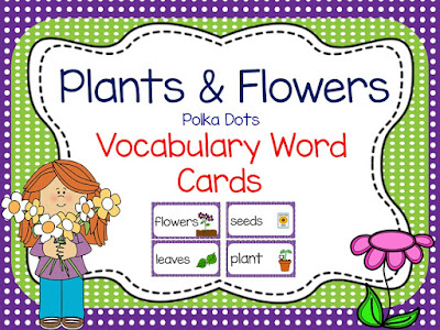 https://www.teacherspayteachers.com/Product/Flowers-and-Plants-Vocabulary-Cards-1118805