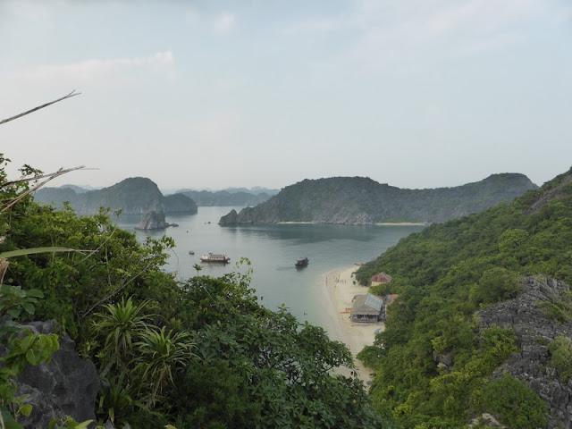 Vistas desde el mirador de Monkey Island