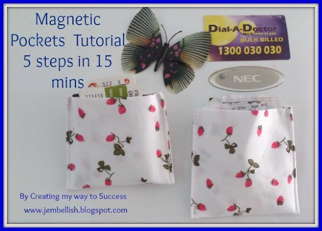 Magnetic Fridge Pockets
