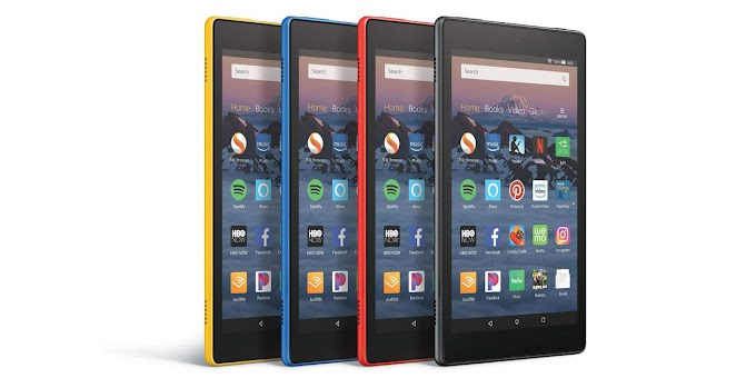 Amazon announces all-new Fire HD 8 and Fire HD 8 Kids Edition