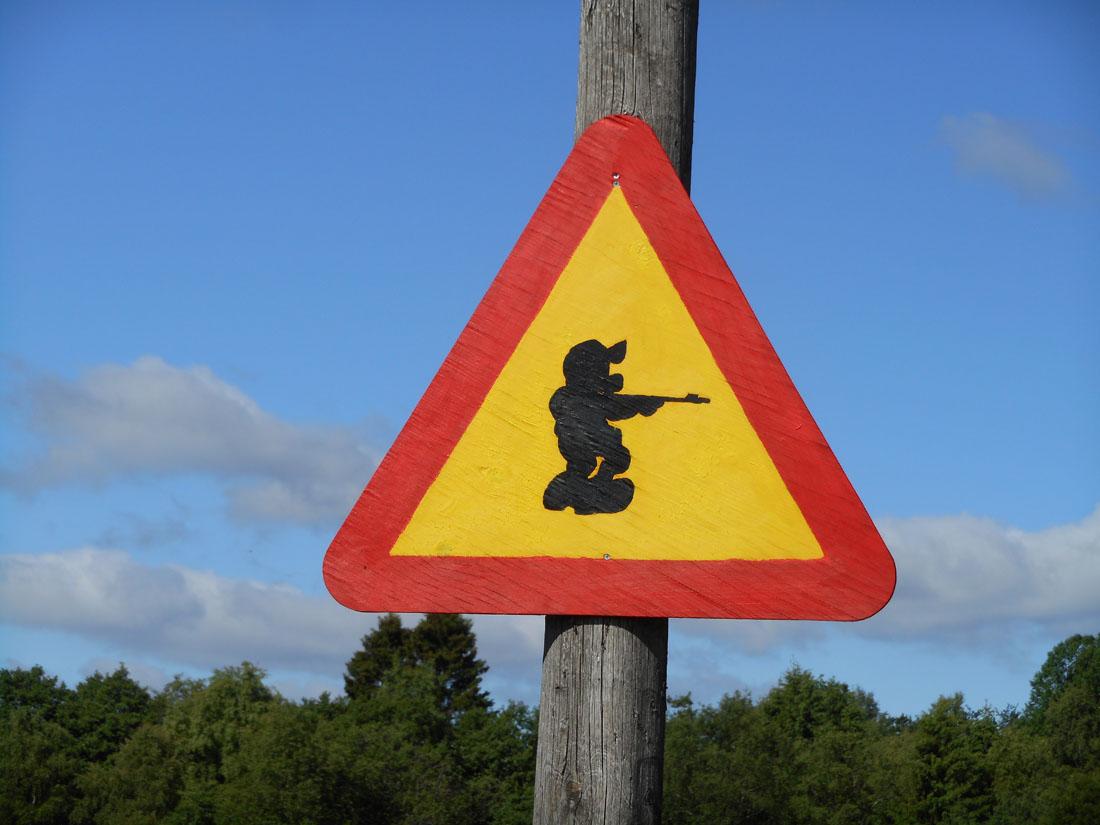Attenti al cacciatore!