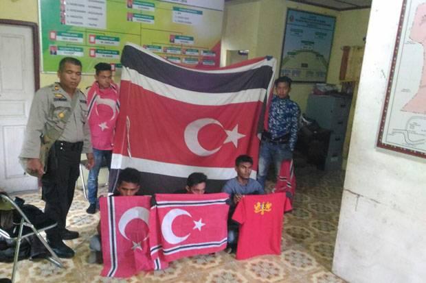 Hendak Kibarkan Bendera GAM di Gunung Burni, 5 Pendaki Diamankan