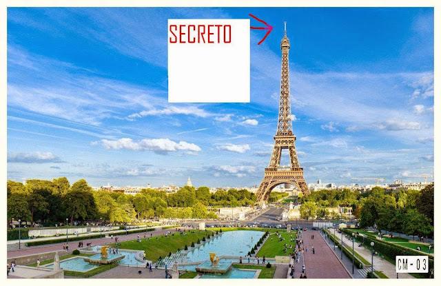 """1 - El """"secreto"""" que oculta la Torre Eiffel en su punto más alto"""