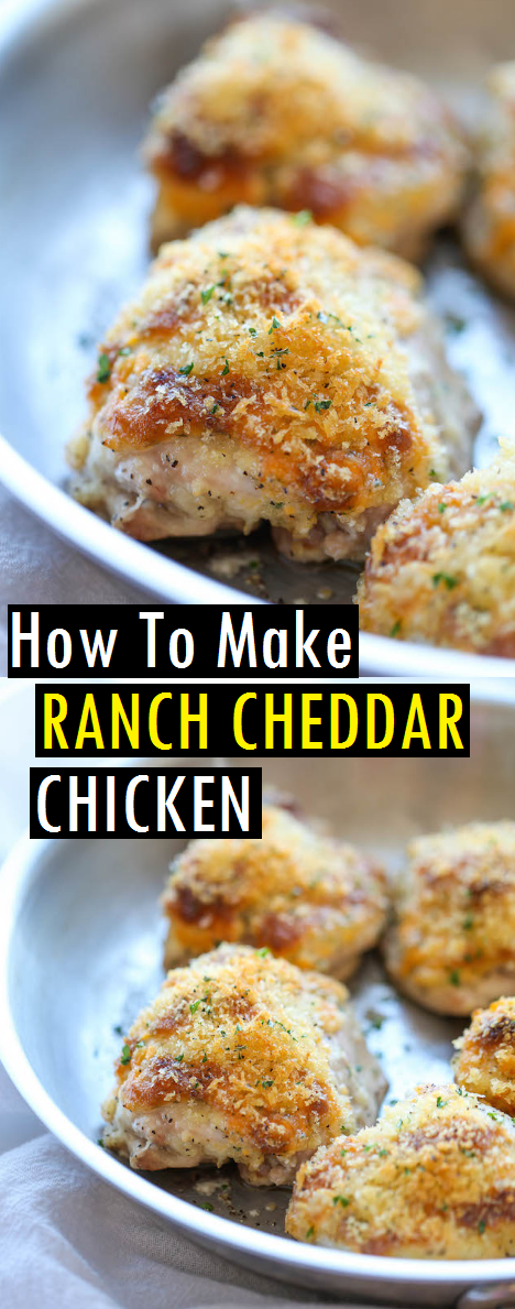 How To Make RANCH CHEDDAR CHICKEN