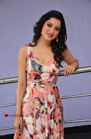 Actress Richa Panai Pos in Sleeveless Floral Long Dress at Rakshaka Batudu Movie Pre Release Function  0073.JPG