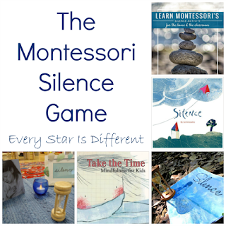The Montessori Silence game resources.